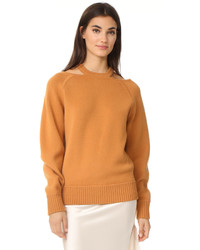Cashmere sweater with cutouts medium 5259271