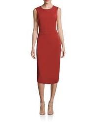 A.L.C. Jocelyn Cutout Silk Blend Sheath Dress