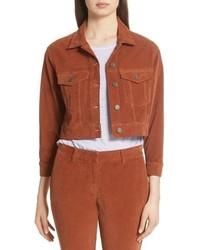 A.L.C. Deren Corduroy Crop Jacket