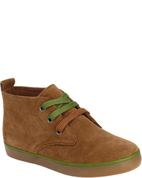Hanna Andersson Boys Nils 2 Chukka Boot Brown Suedechive Boots
