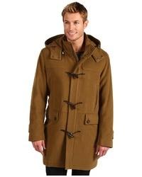 Italian wool duffle coat coat medium 27282