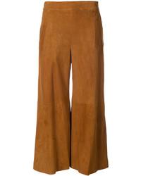 Oscar de la Renta Cropped Trousers With Flare