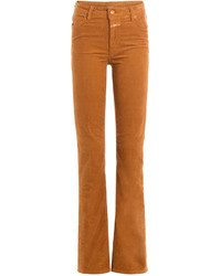 Closed Flared Corduroy Pants