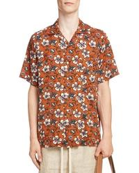 Loewe Floral Print Camp Shirt