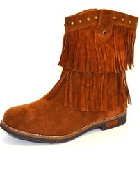 Corkys Brown Fringe Boots