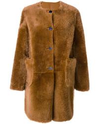 Shearling fur coat medium 4471248
