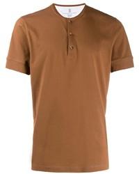 Brunello Cucinelli Buttoned T Shirt