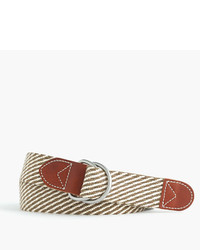 J.Crew Cotton Belt In Stripe