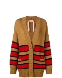 N°21 N21 Oversized Striped Cardigan