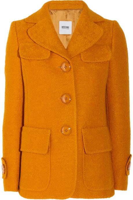 Wool coat MOSCHINO