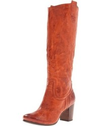 Tobacco knee high boots original 2324571