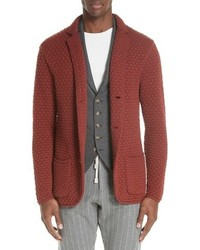 Eleventy Wool Sweater Jacket
