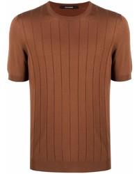 Tagliatore Ribbed Knit T Shirt