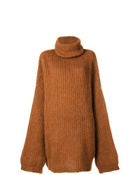Tobacco Knit Oversized Sweater