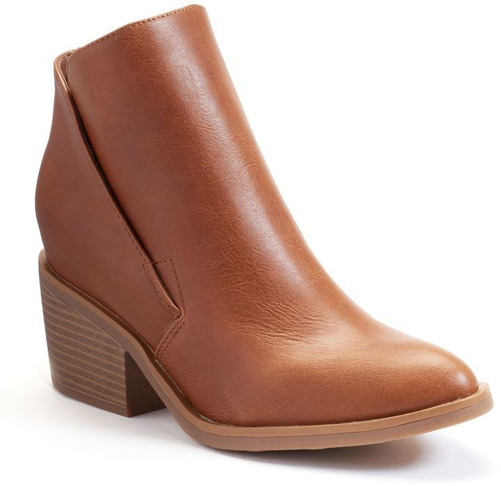 Apt. 9 Hidden Wedge Ankle Boots, $74