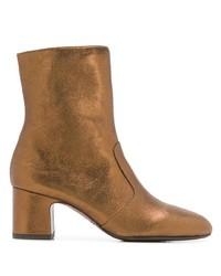 Chie Mihara Nanaylon Metallic Ankle Boots
