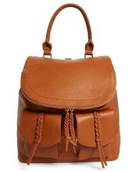 Sole Society Dixon Faux Leather Backpack Brown