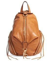 Medium julian leather backpack brown medium 3731110
