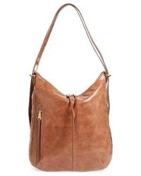 Hobo Merrin Leather Backpack Grey