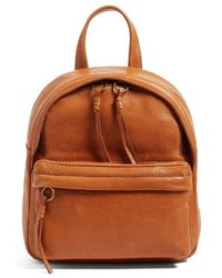 Mini lorimer leather backpack brown medium 3654940