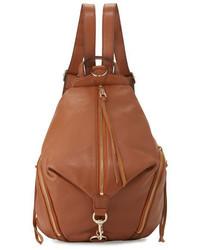 Rebecca Minkoff Julian Leather Backpack Almond