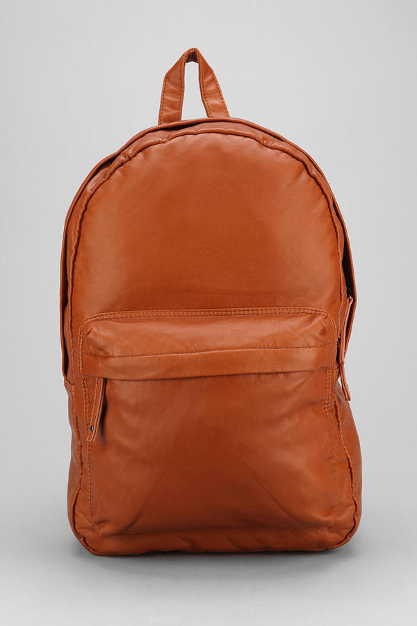 Urban Outfitters Feathers Faux Leather Backpack | Where to buy ...