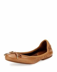 MICHAEL Michael Kors Michl Michl Kors Mk City Leather Ballerina Flat