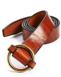 Tobacco Leather Belt