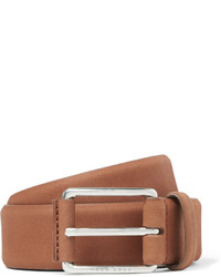 Hugo Boss 35cm Tan Catios Nubuck Belt