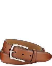 Neiman Marcus 35mm Hand Burnished Leather Belt
