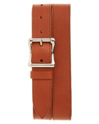 Shinola Leather Roller Belt