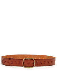 Linea Pelle Leather X Perforated Versatile Hip Belt