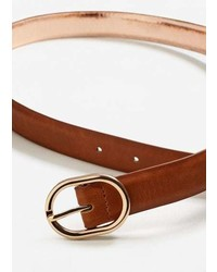 Mango Metal Detail Belt