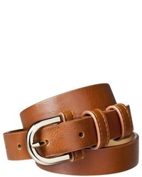 Merona Modern Dress Belt Brown