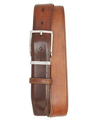 Santoni Old England 2 Leather Belt
