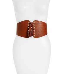 Santiago leather corset belt medium 3742345