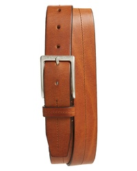 BOSS Simo Stitch Calfskin Leather Belt