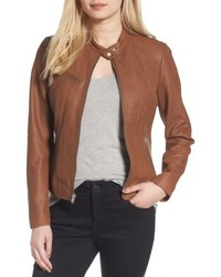 Andrew Marc Marc New York Felicity Leather Moto Jacket
