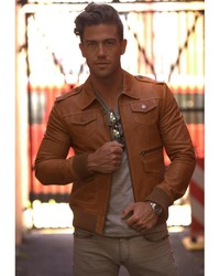 Atom Willis Camel Jacket