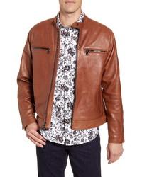 Robert Graham Roscoe Skull Studded Leather Jacket