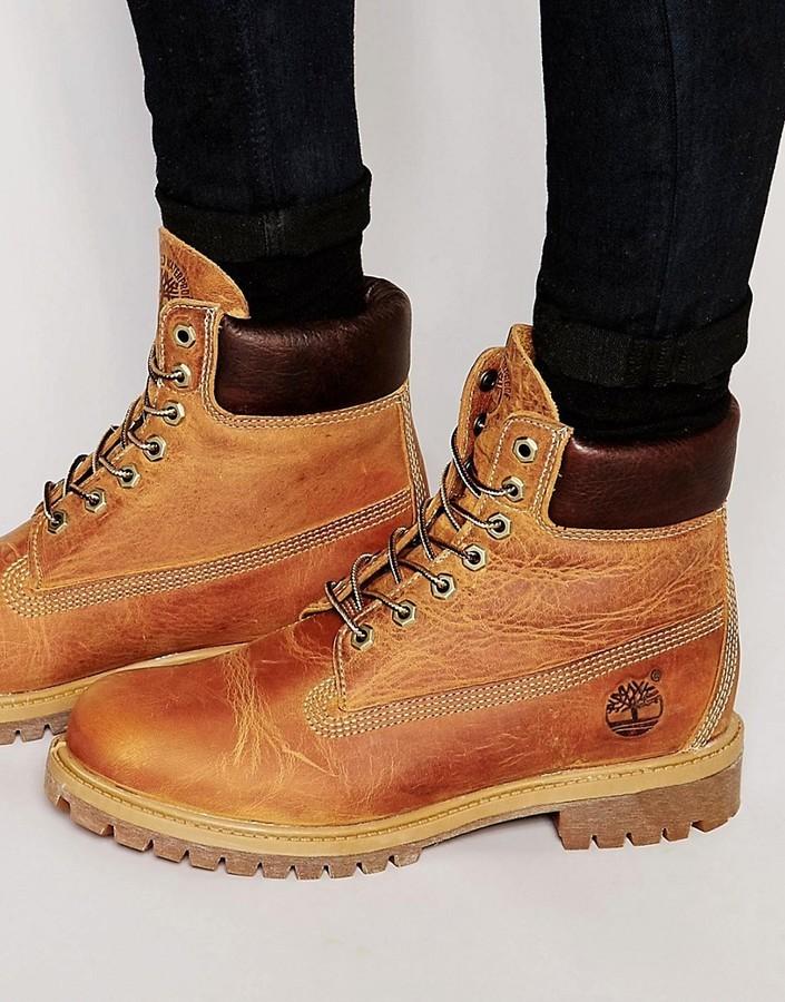 f0365176e9 Timberland 6 Inch Anniversary Boots, $214 | Asos | Lookastic.com