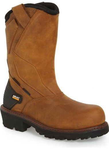 Ariat Powerline H2o Waterproof Insulated Comp Toe Work Boot ...