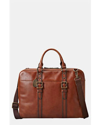 Tobacco Leather Briefcase