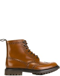 Brogue detailing boots medium 732525