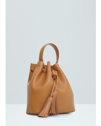 Mango Outlet Bucket Bag