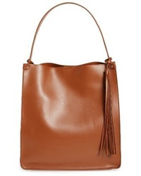 Karlie faux leather bucket bag brown medium 1044241