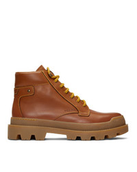 Prada Brown Hiking Boots