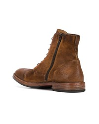 Moma Lace Up Ankle Boots