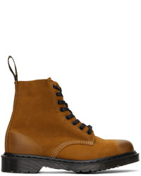 Dr. Martens Tan Made In England 1460 Pascal Titan Boots