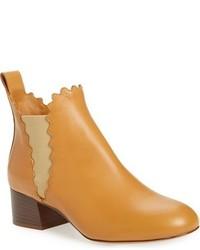 Chloé Chloe Scallop Chelsea Boot